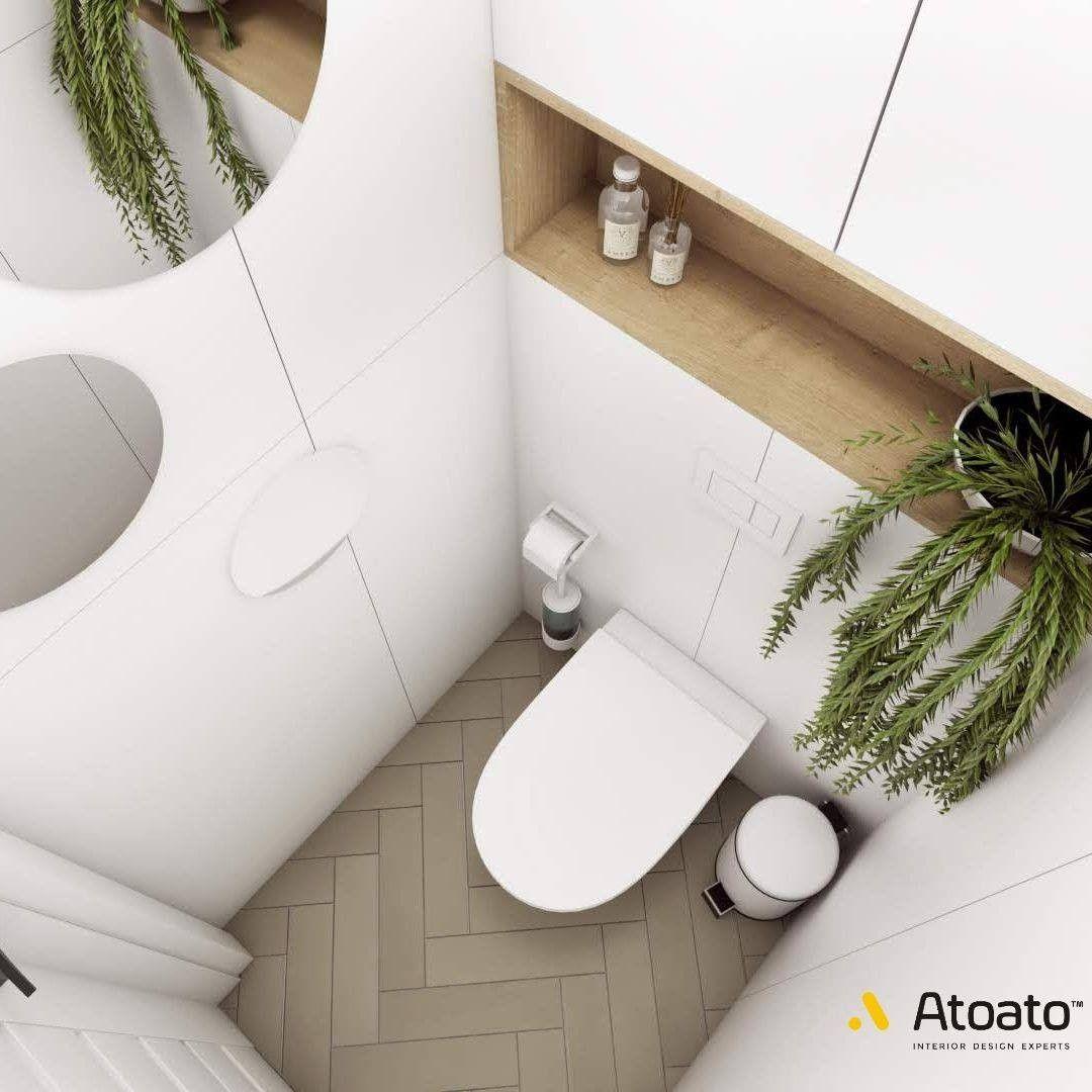 Male Jest Piekne Kazdy To Wie Ach Te Malutkie Toalety W Blokach Co Zrobic Z Tym Fantem Oto Propozycja Glownym Elementem Ozdob Bath Caddy Toilet Bath