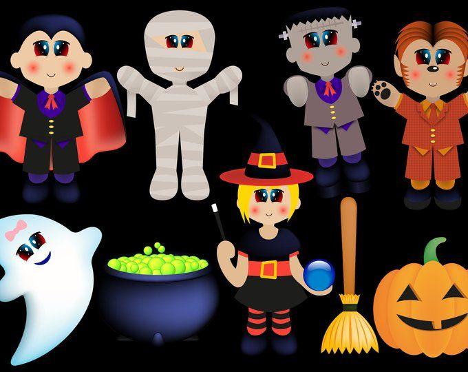 Halloween Clipart, Halloween Decorations, Halloween Decor ...