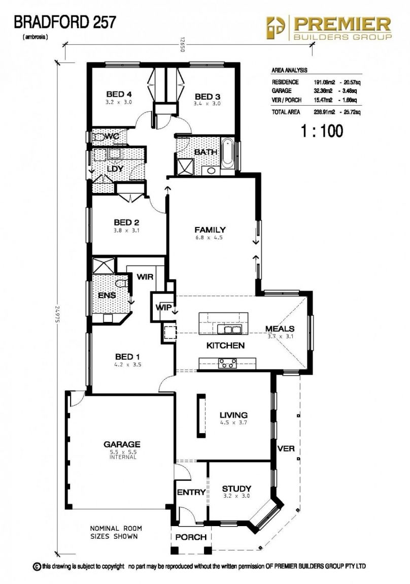 Our Homes The Bradford Floor Plans House Plans How To Plan
