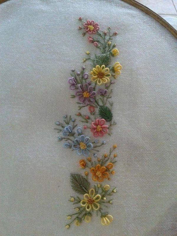 brasilianische Handstickstiche #Vintageembroiderypatterns, #brasilianische #HandEmbroideryStitches #Handstickstiche #Vintageembroiderypatterns