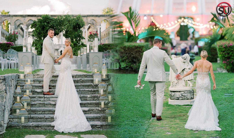 Sports Star J.J. Watt Gets Married To Kealia Ohai In