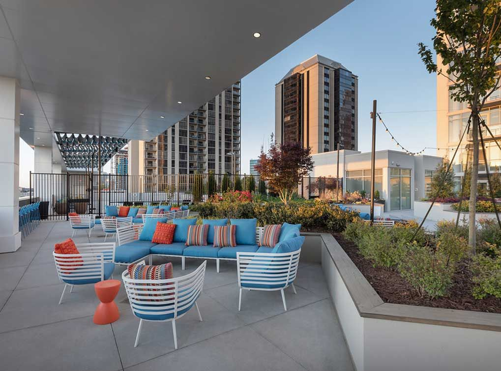 Cowork image by c werk atlanta apartments high rise
