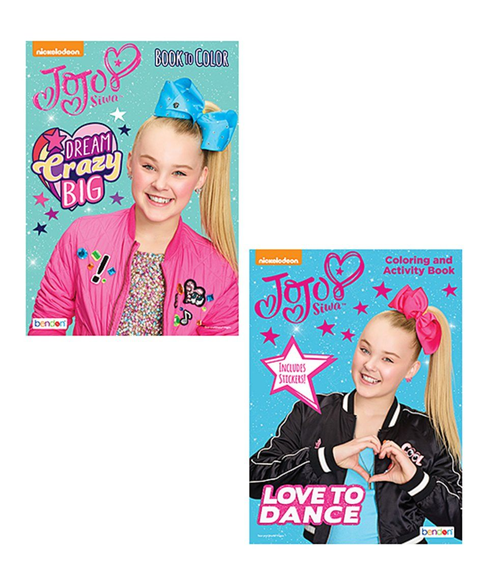 Take A Look At This Jojo Siwa Activity Sticker And Coloring Book Set