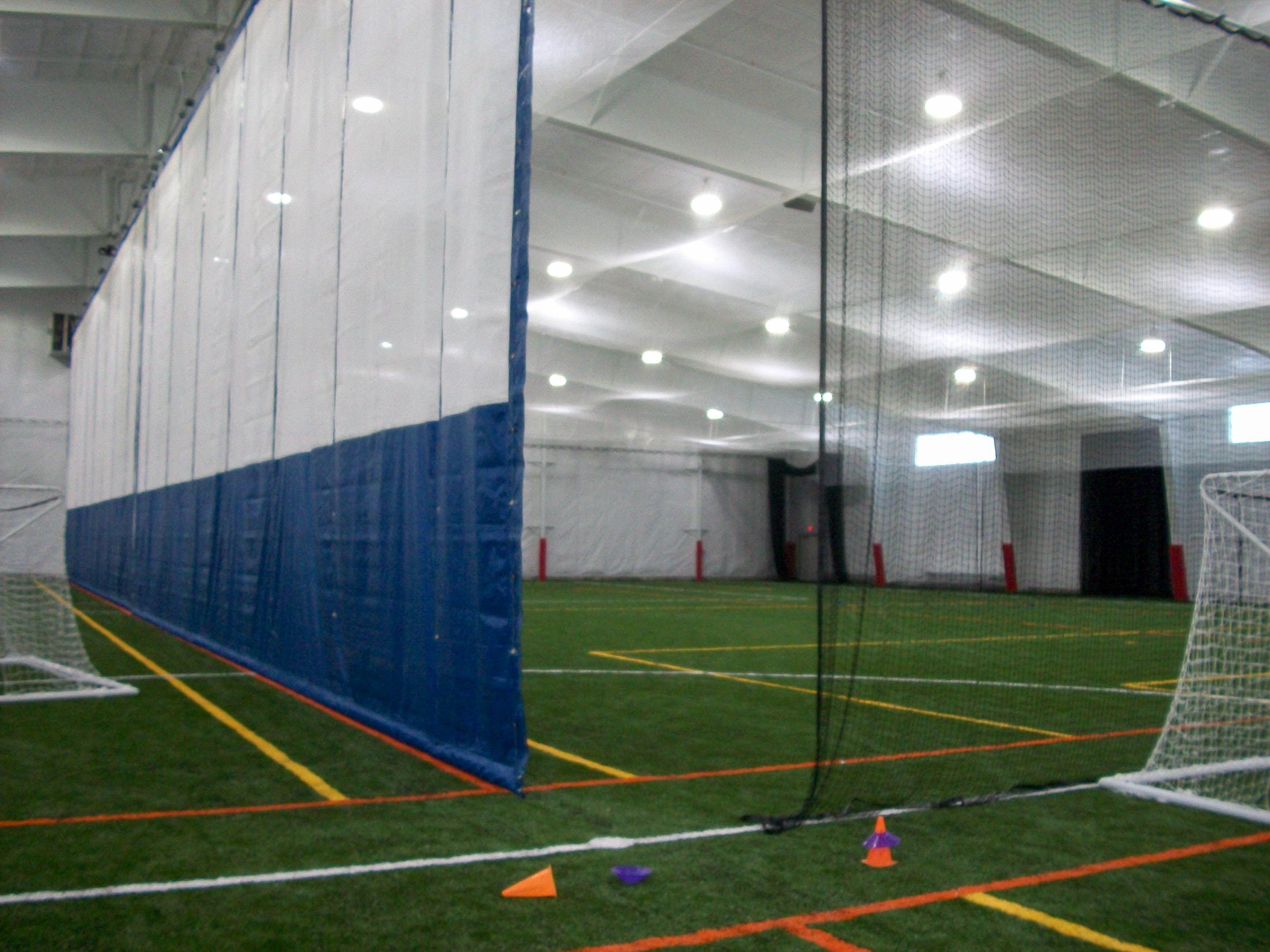 indoor soccer curtain - google search | wellesley sportsplex ideas