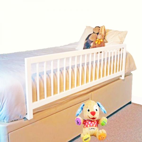 Baranda De Metal Para Cama De Niños Riel Barandal Protector Seguridad Infantil