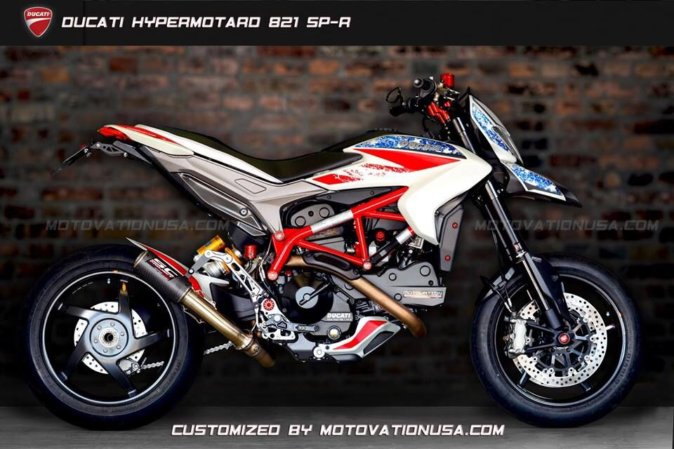 motovationusa custom ducati hypermotard 821 sp cnc racing sc project exhaust bst wheels. Black Bedroom Furniture Sets. Home Design Ideas