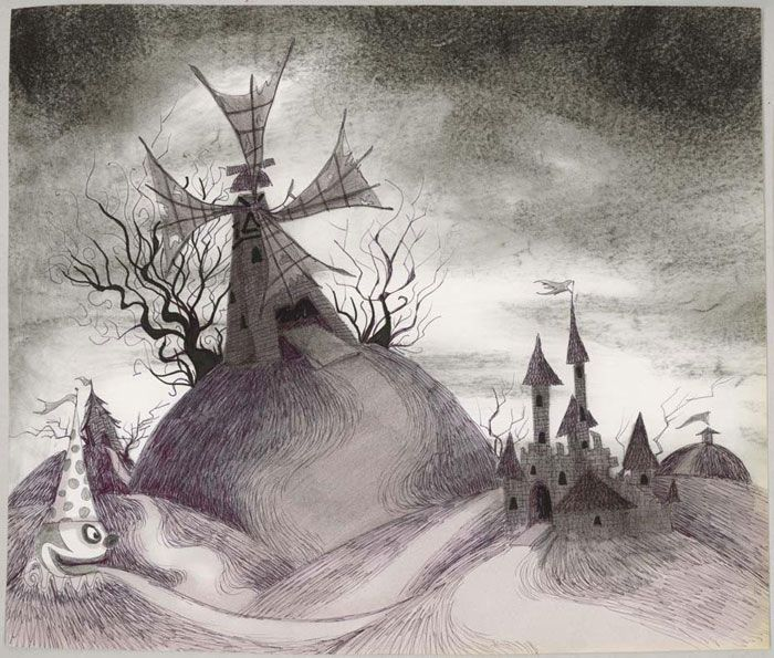 Frankenweenie Background Tim Burton Artwork Tim Burton Art Tim Burton Drawings