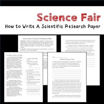 Scientific research paper help