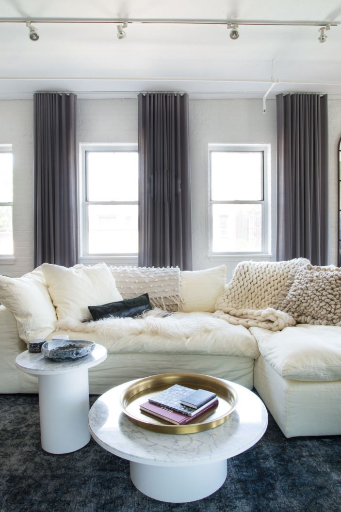 We Imagine This Restoration Hardware Sofa Feels Like The Real Life Version Of A Cloud