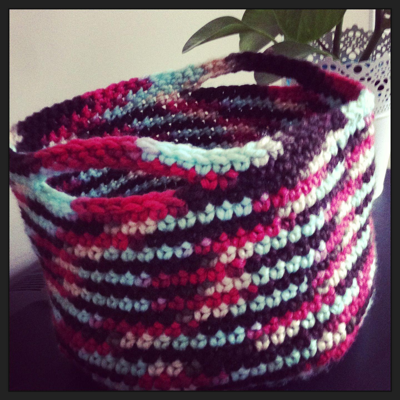 Crochet Basket (MW Chintz)
