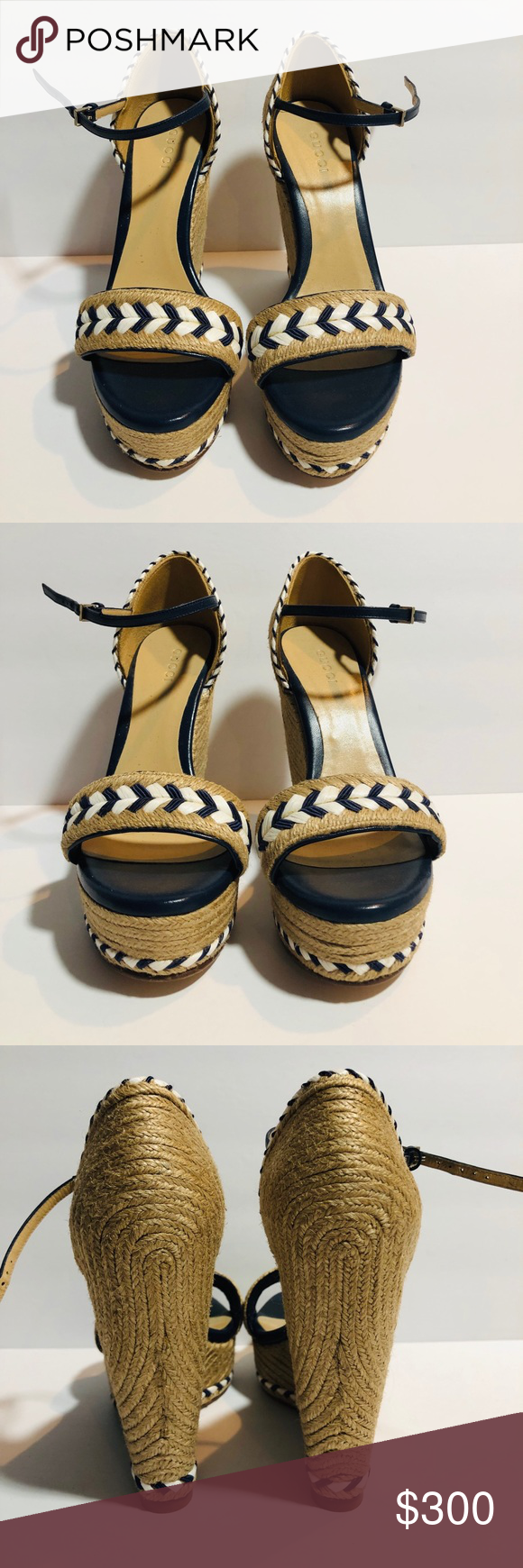 ae53dac714c Gucci Wedges 100% Authentic Gucci Wedges. Only worn once