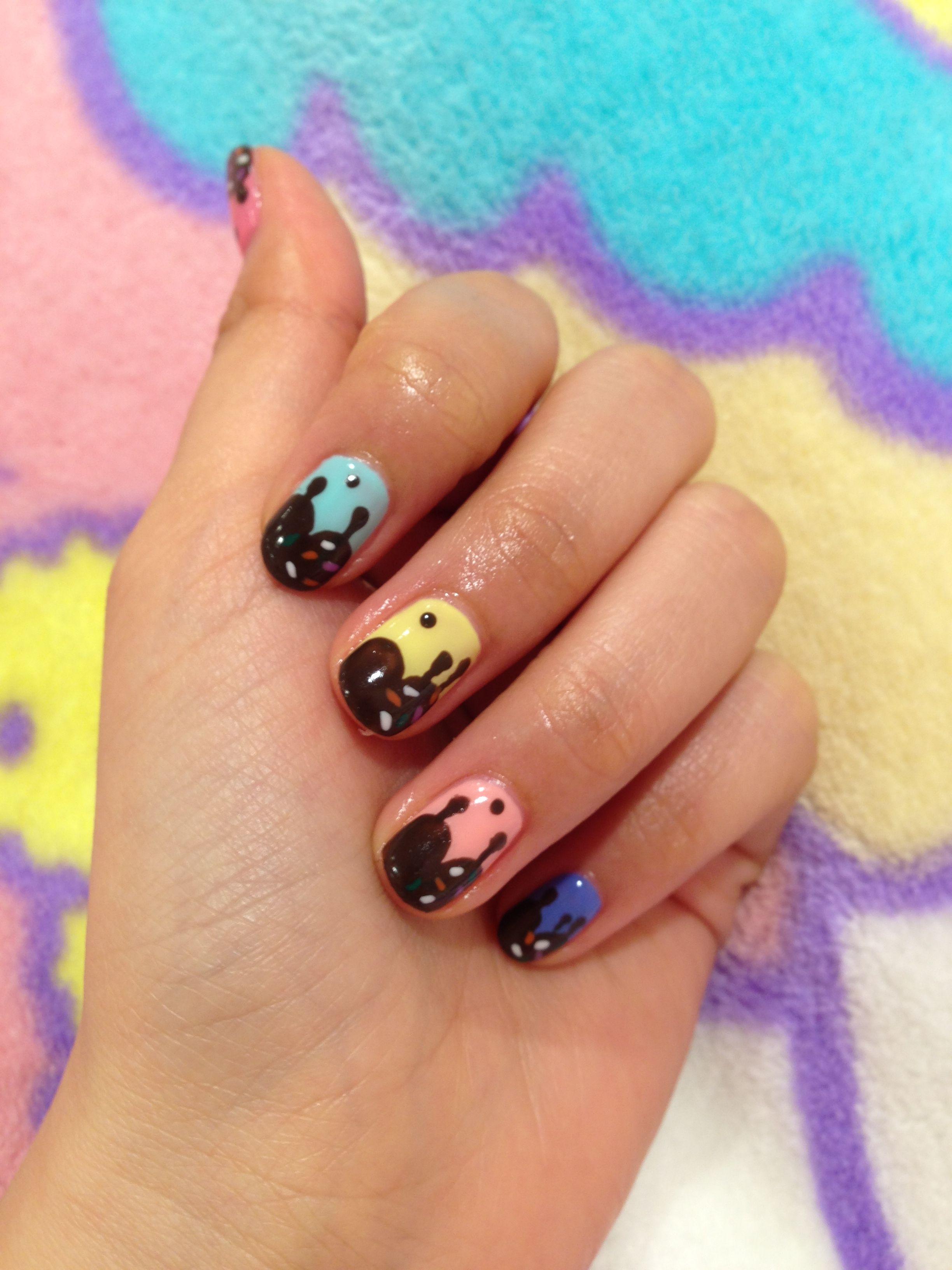 Kawaii Nails   Nail designs   Pinterest   Uñas kawaii y Kawaii