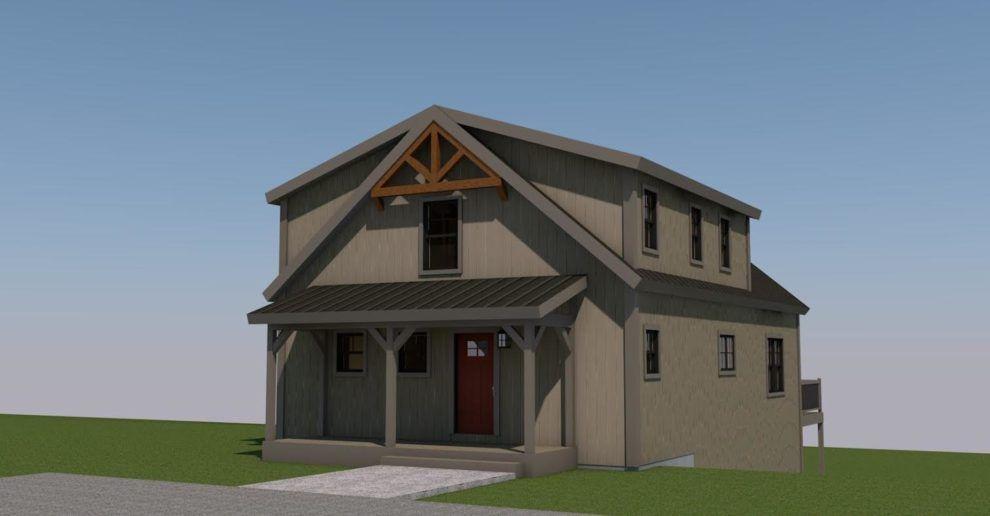 Yankee Barn Homes Yankee Barn Homes Barn House Shed Plans 12x16