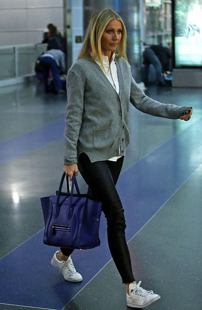 Just Can't Get Enough: Gwyneth Paltrow and Her Céline Luggage Tote - PurseBlog