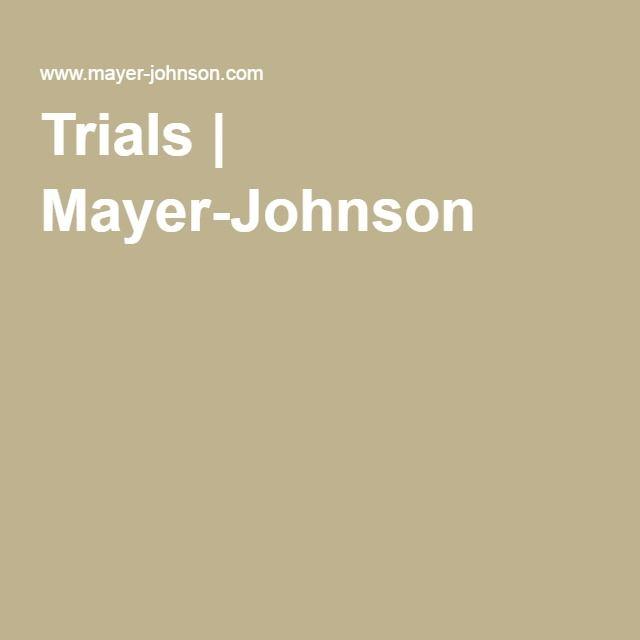 Trials | Mayer-Johnson
