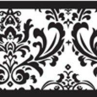 Isabella Black And White Damask Wall Border 15 Feet X 6