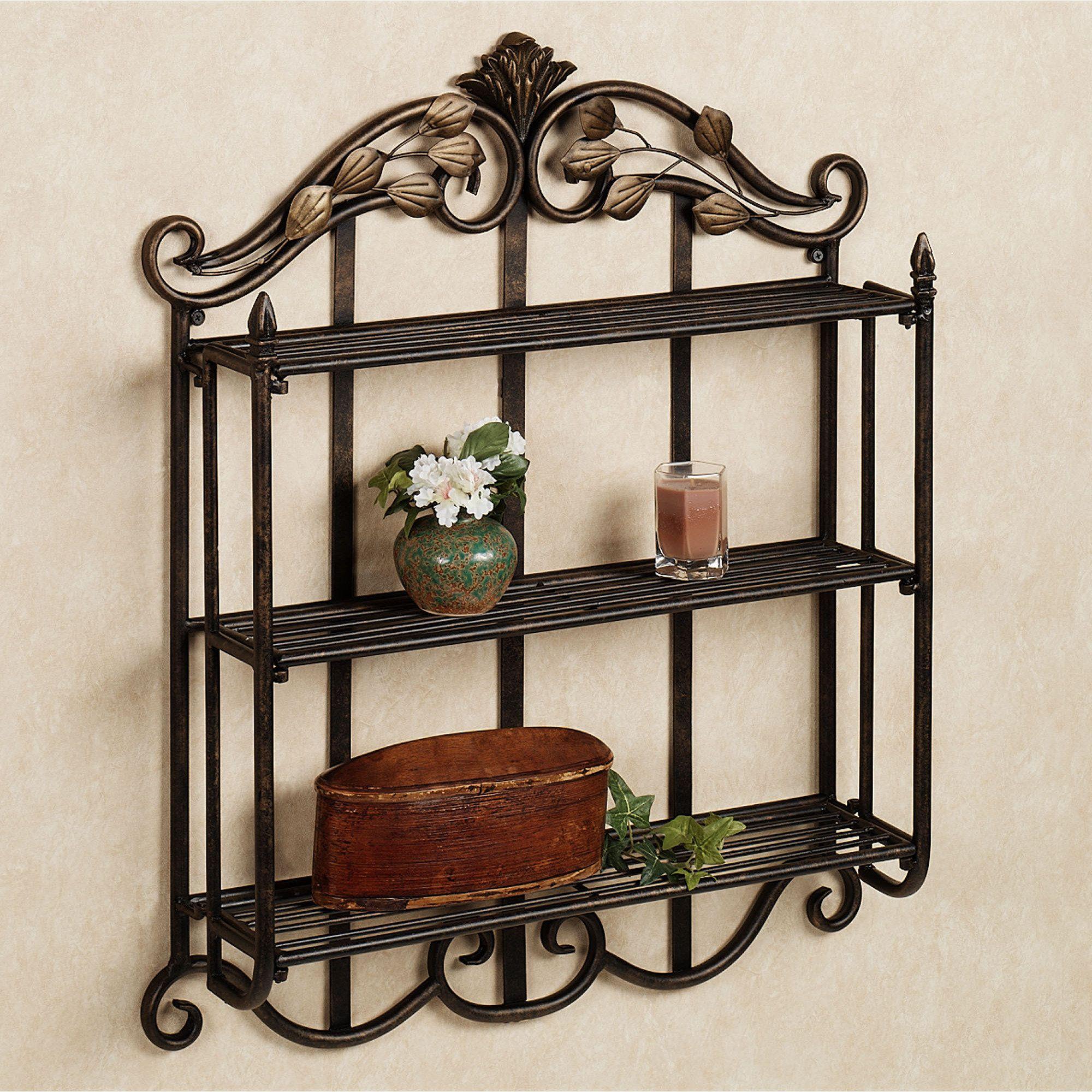 corner shelf wroght iron google search wrought iron. Black Bedroom Furniture Sets. Home Design Ideas