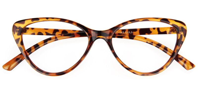 1064d712487 Womens Prescription Eyeglasses Michaela Tortoise Cat Eye Glasses 0127-01
