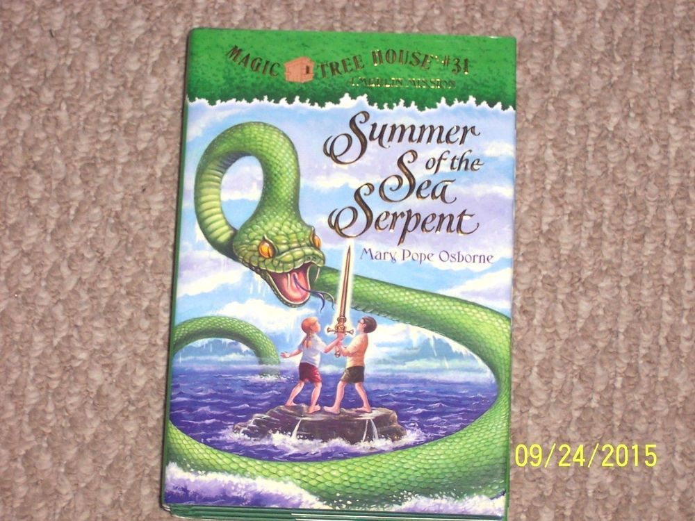 Magic Tree House Merlin Mission Summer Of The Sea Serpent