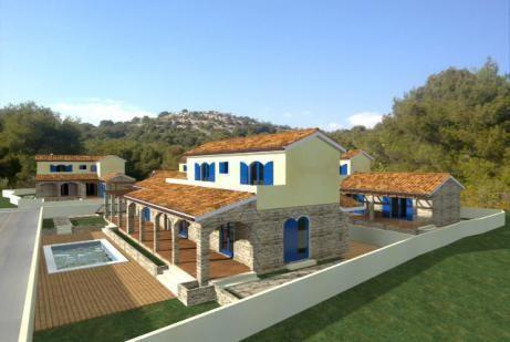 Dalmatinska kamena vila kuća Jezera Murter Real