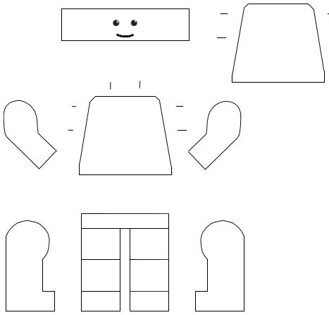 paper lego man template - Google Search | Letter 'L' | Pinterest ...