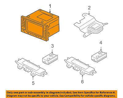 Porsche Oem 03 04 Cayenne Gps Navigation System Display System