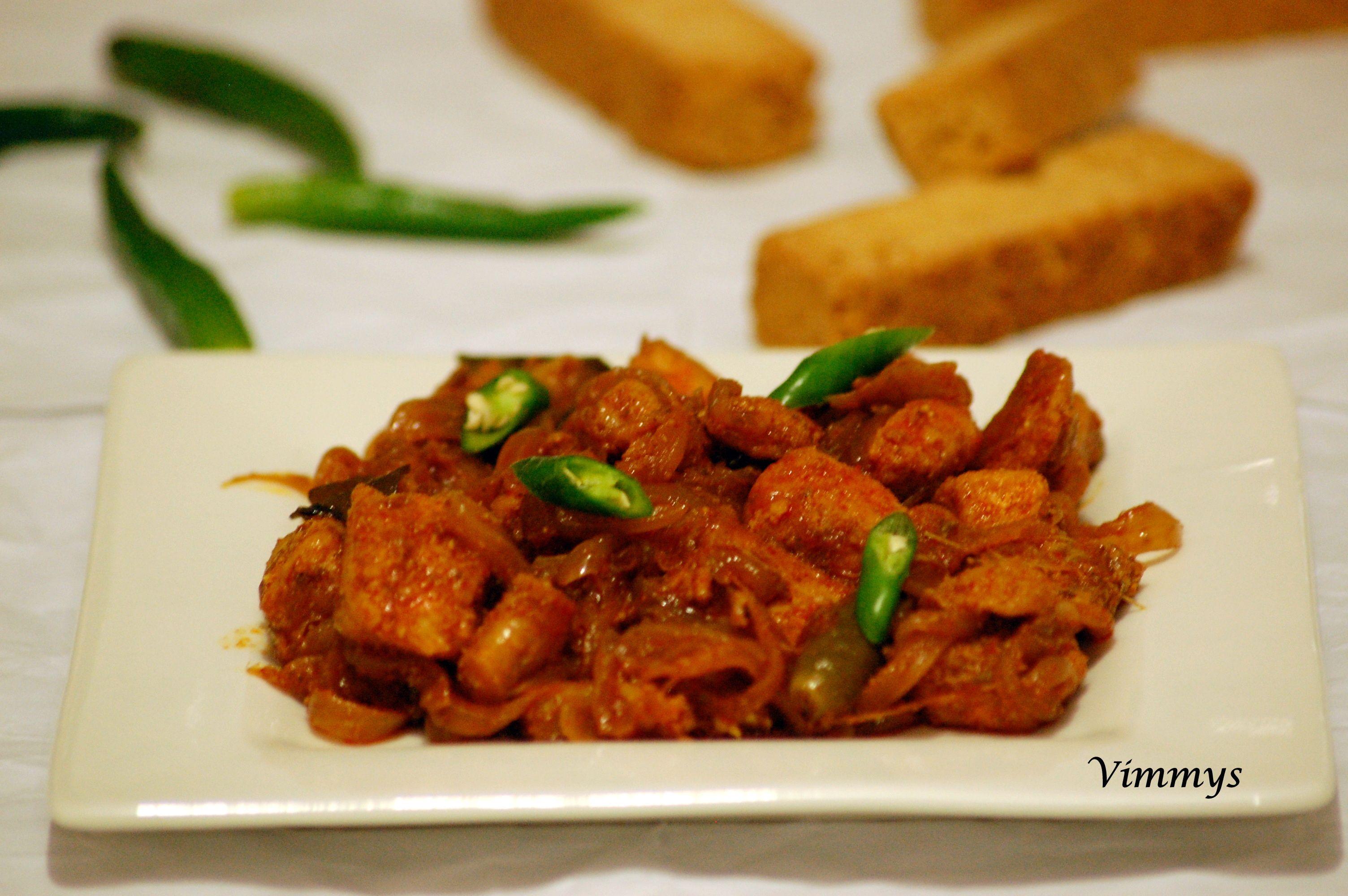 Fish Roast (Kerala Style)