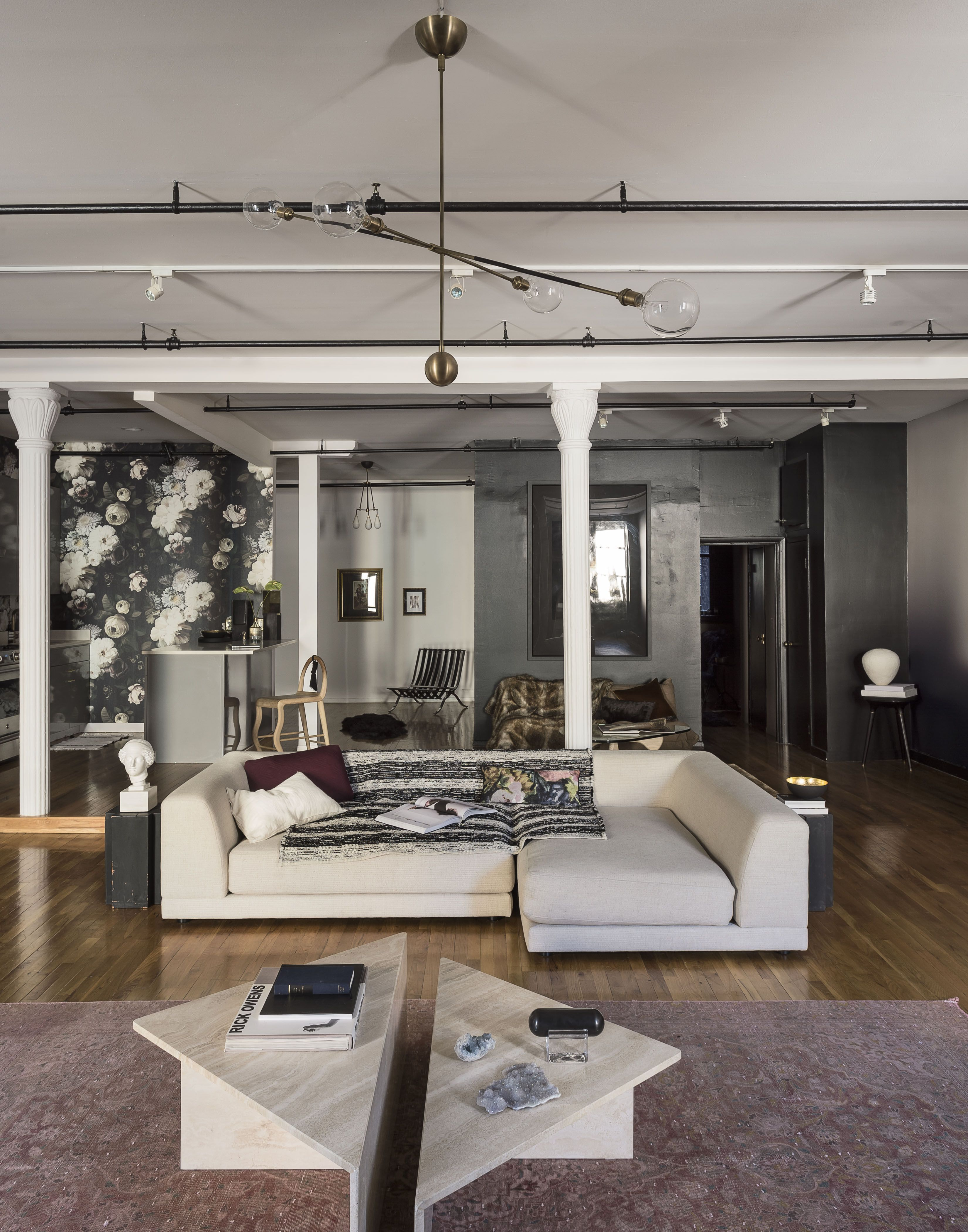 Industrial Modern House The Loft Apartment In TriBeCa New York