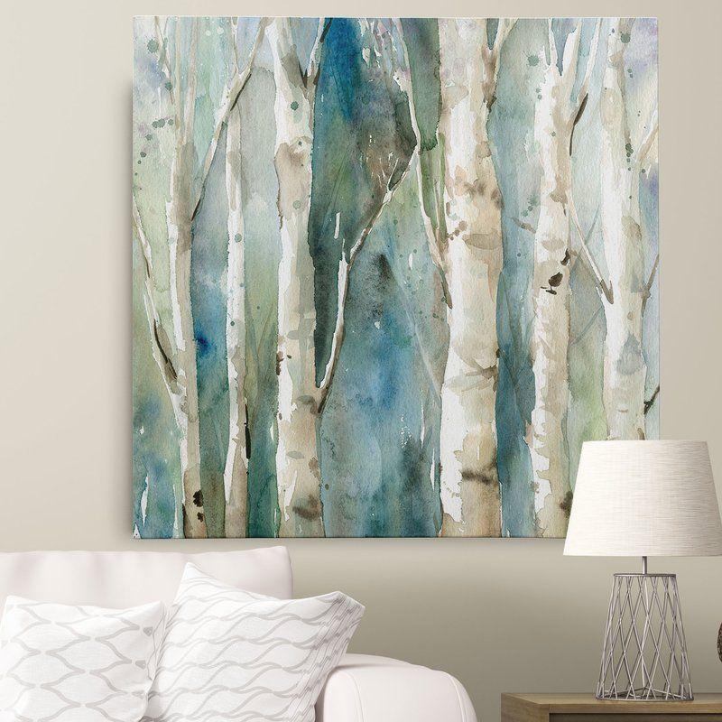 River Birch I By Carol Robinson Painting Print On