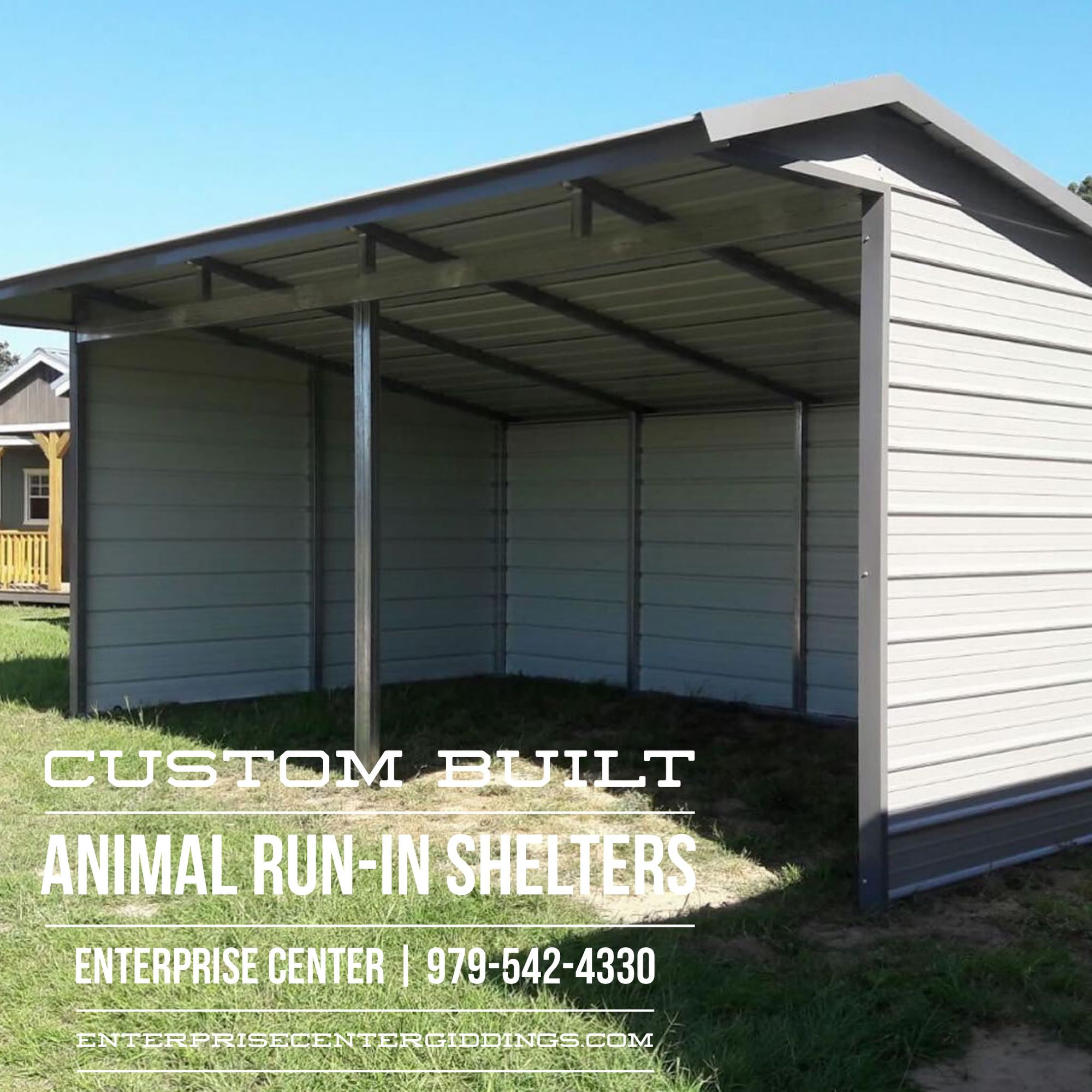 Call Us for more information about custom built animal run
