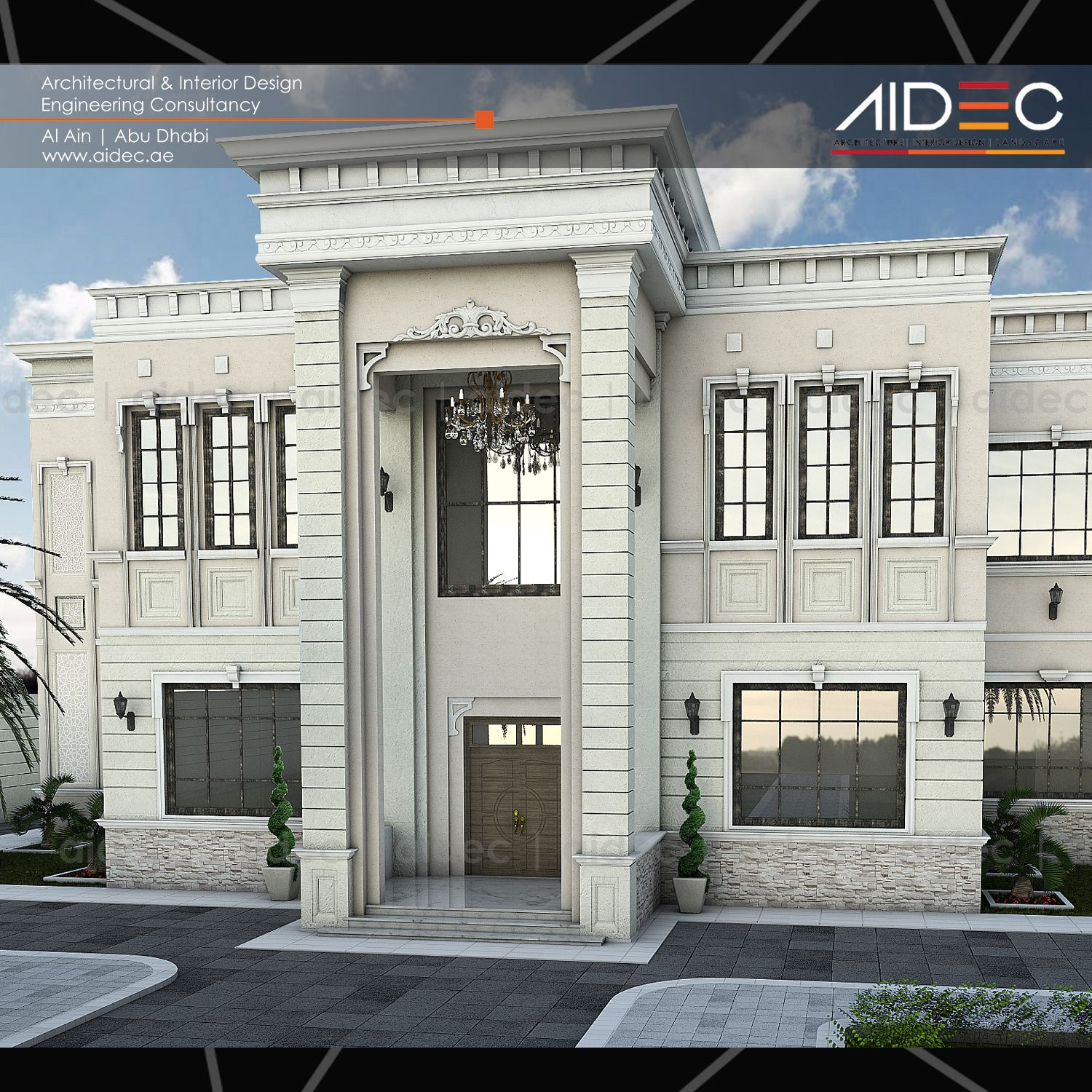 Proposed private residential villa classic with luxurious for Classic villa design