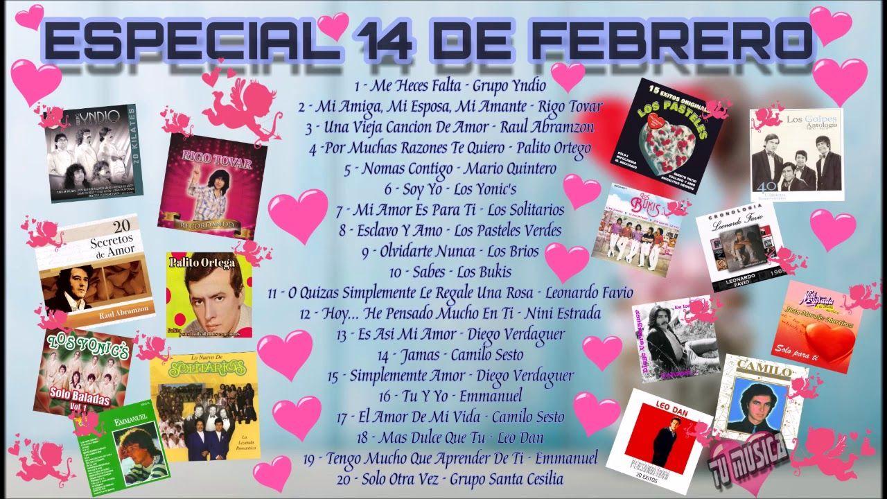 ESPECIAL 14 DE FEBRERO VARIOS ARTISTAS (FULL ALBUM