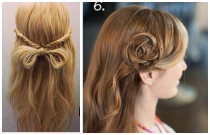 2 Peinados Fa Ciles Para Principiantes Paso A Paso Peinados Peinados Faciles De Hacer Peinados Faciles