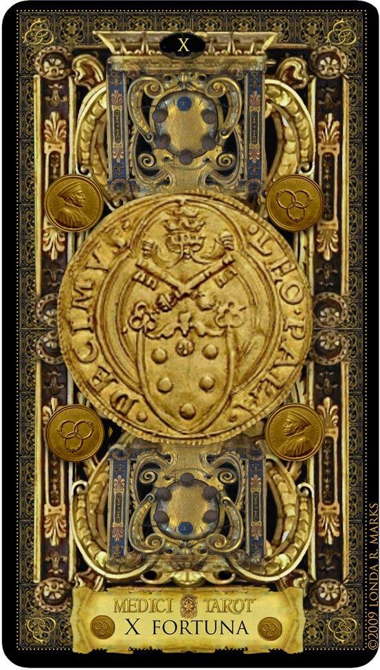 Tarot X The Wheel Of Fortune: MEDICI TAROT (Expanded). Artist