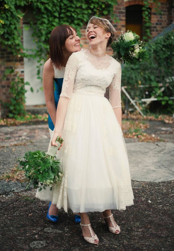 QLD Fortitude Valley Wedding Natalie McCormas Queensland Vintage DressesVintage WeddingsLace