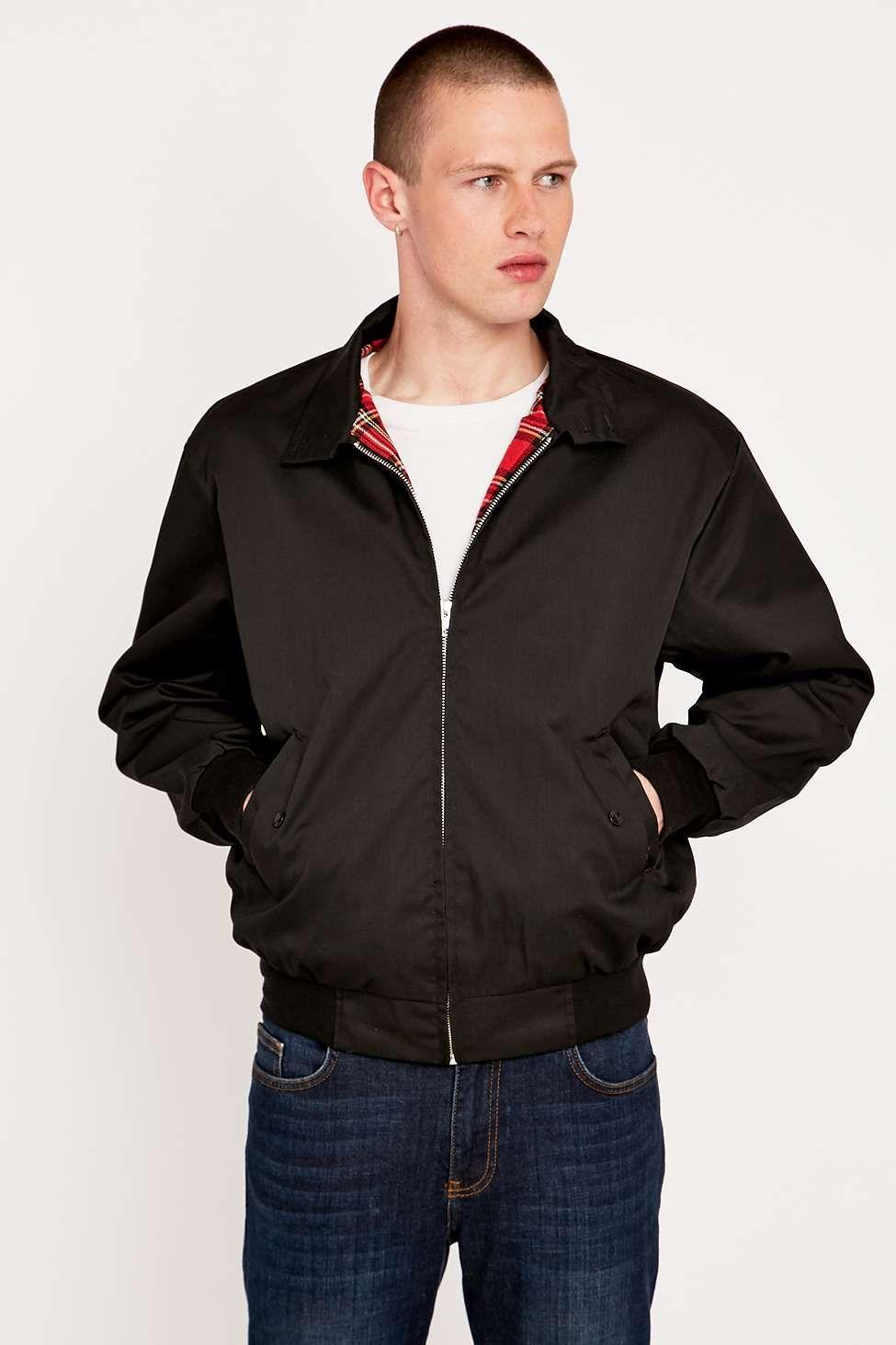 Urban renewal black harrington jacket