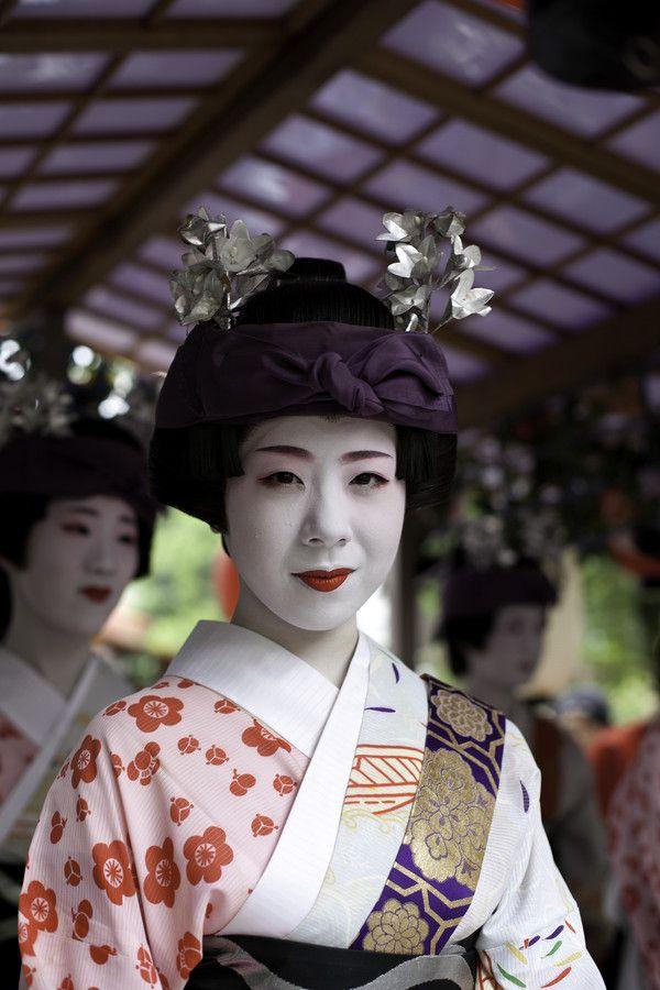 Maiko during Gion Matsuri, Kyoto, Japan