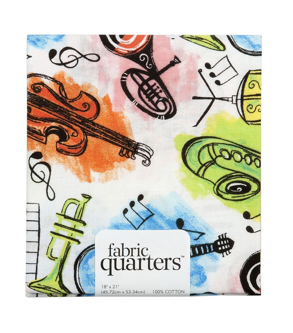 Fabric quarters assorted fabric music products