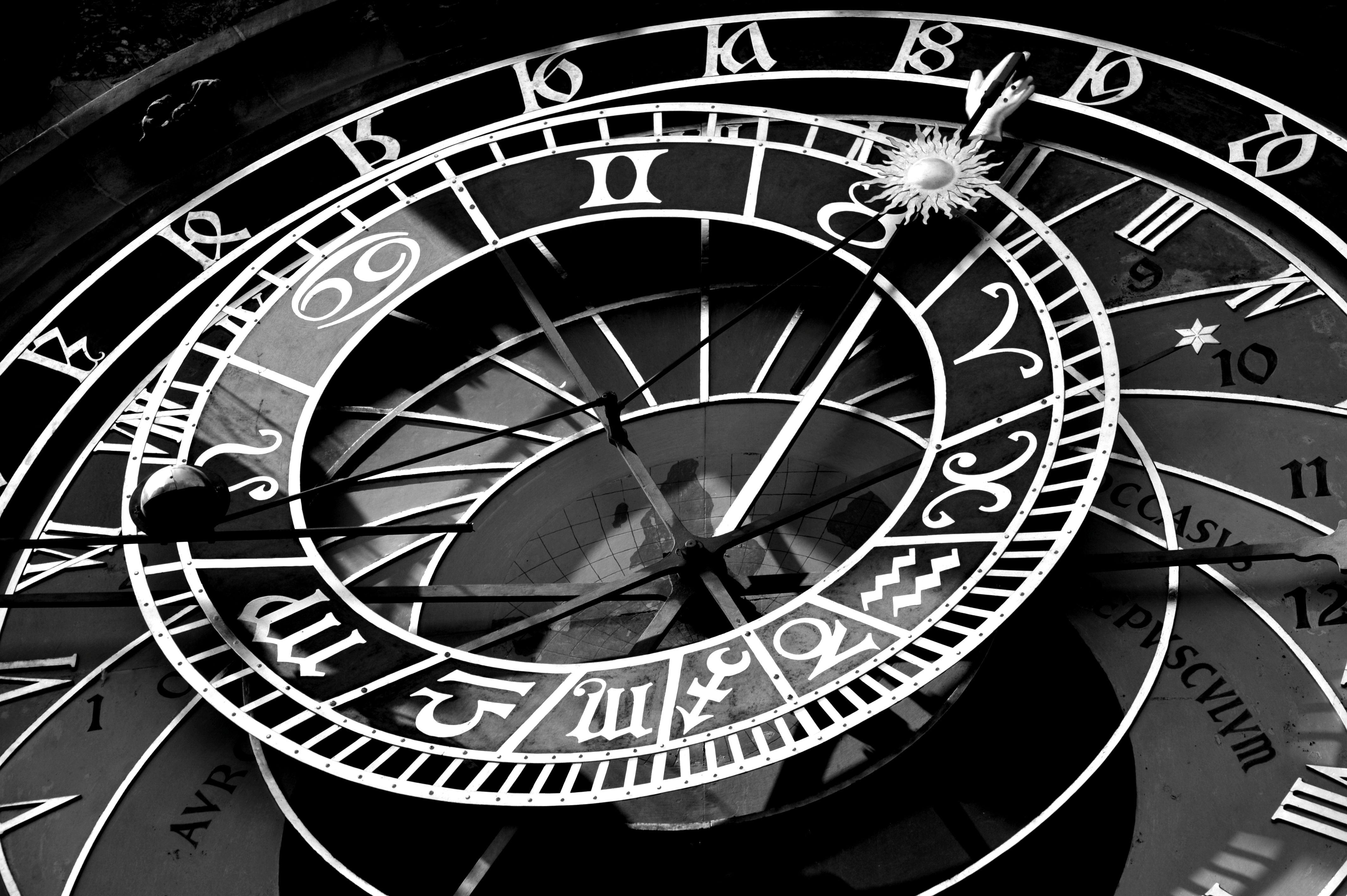 Astronomical Clock Tattoo: The Prague Astronomical Clock Or Prague Orloj As The