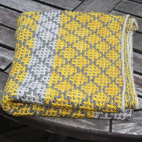 Mosaic Blanket free Knitting Pattern | Handmade | Pinterest | Mantas ...