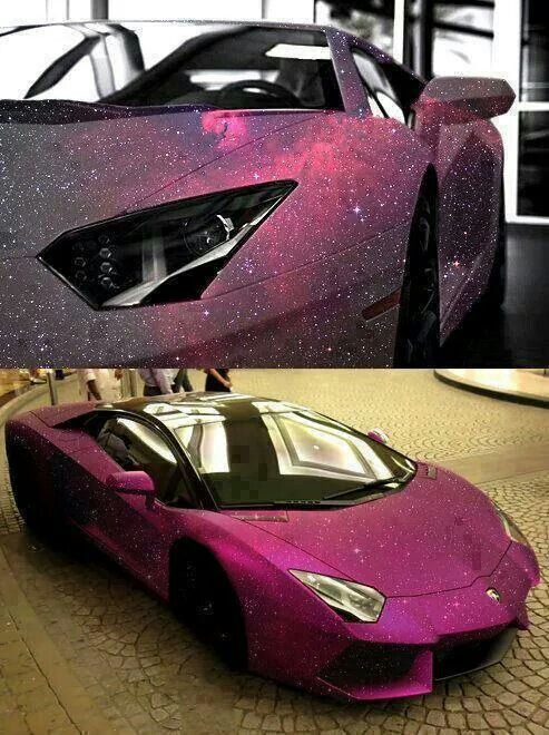 Lamborghini With Galaxy Paint Job. I Just Had To Pin This! I Mean Who  Wouldnu0027t Want A Car With A Galaxy Paint Job?