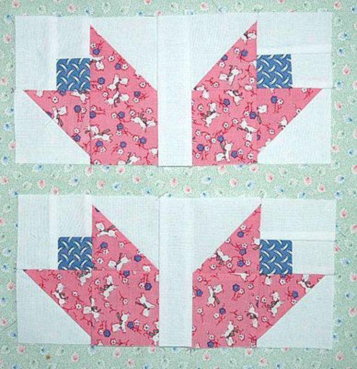 Create a Bouquet of Patchwork Tulip Quilt Blocks