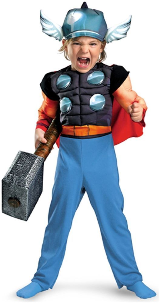 disguise 187268 thor muscle toddler costume size 2 t - Ebaycom Halloween Costumes