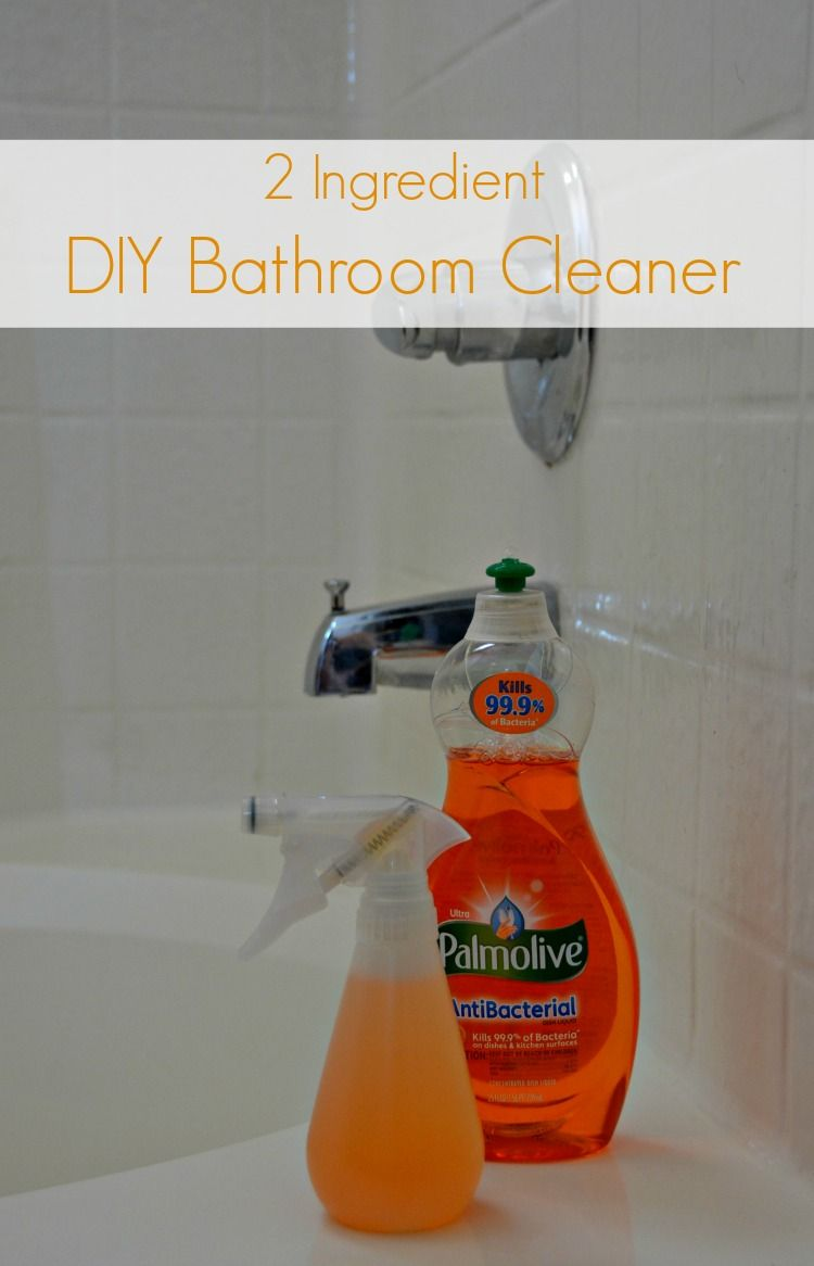 2 Ing Homemade Palmolive Bathroom Cleaner From Growing Up