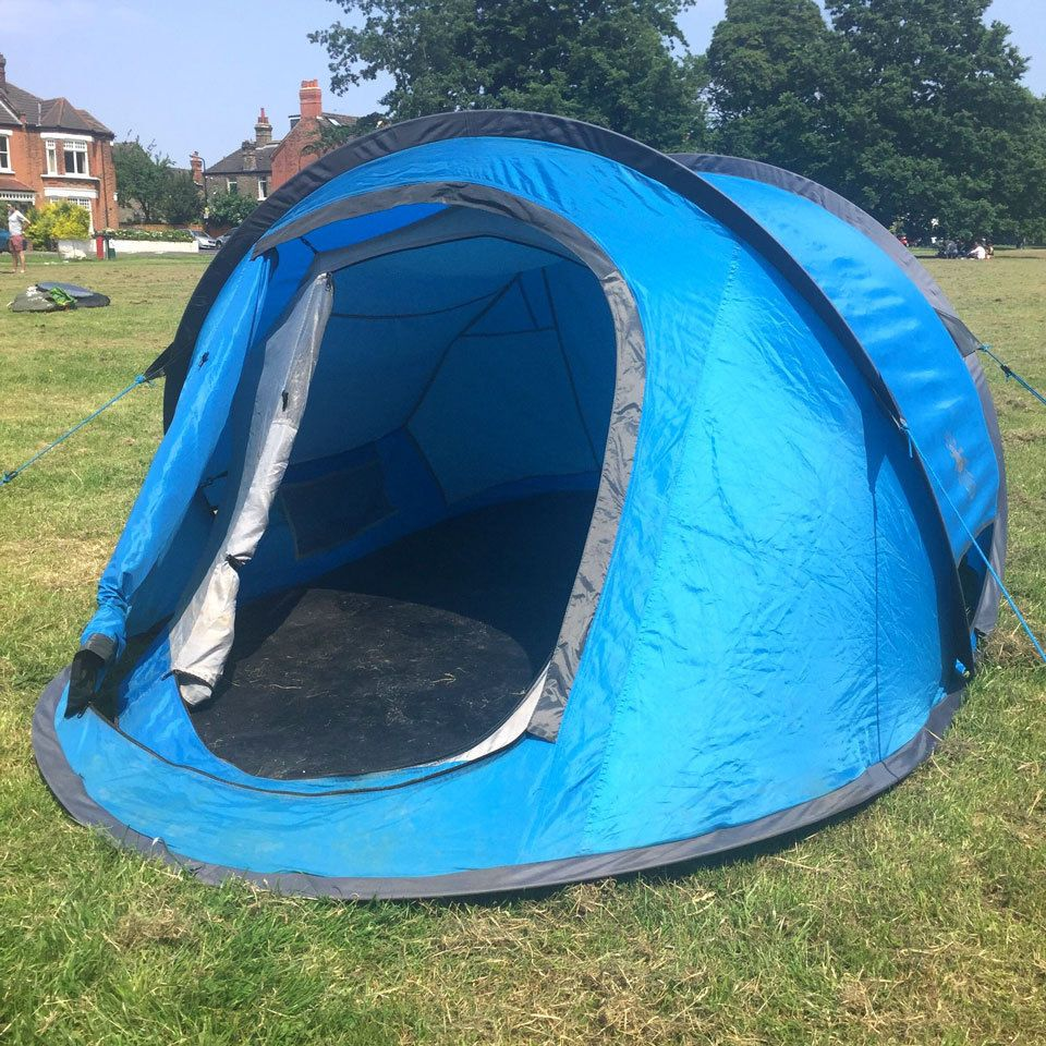 1 Persoons Pop Up Tent Eurohike Flash 2 Man Double Skin Popup Tent Camping
