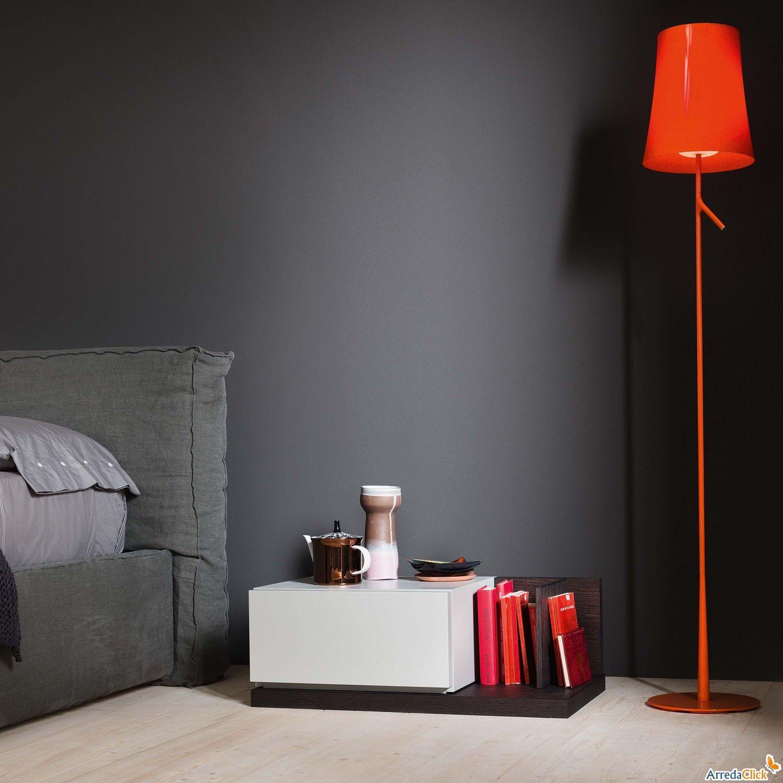 Libreria per camera da letto Tratto - Come comodino! ARREDACLICK ...