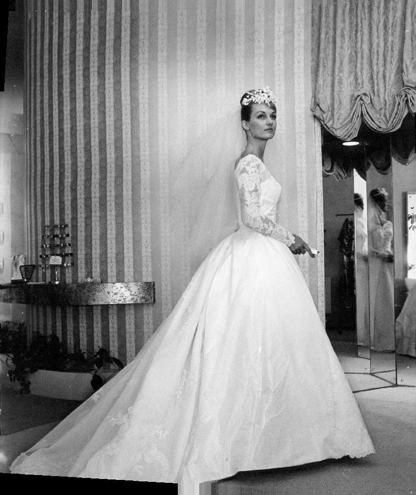 1960, but she looks so fresh and modern. Love this! | I Do {wedding ...