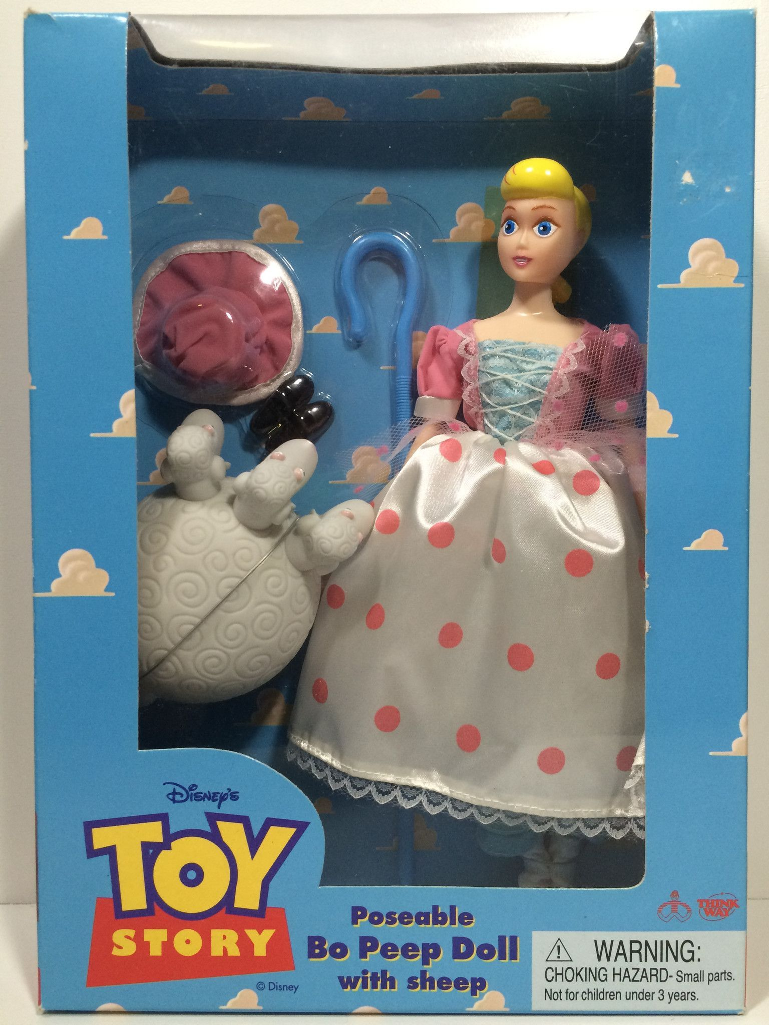 Toy Story Toys Vintage Tas030247 Disney Toy Story Poseable Bo Peep Doll With