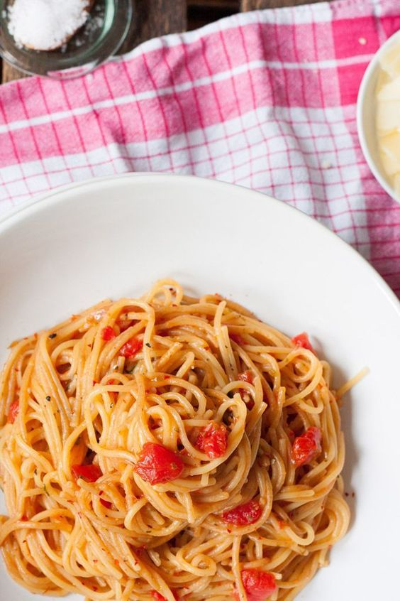 12-Minuten One Pot Pasta Grundrezept - Kochkarussell #easyonepotmeals