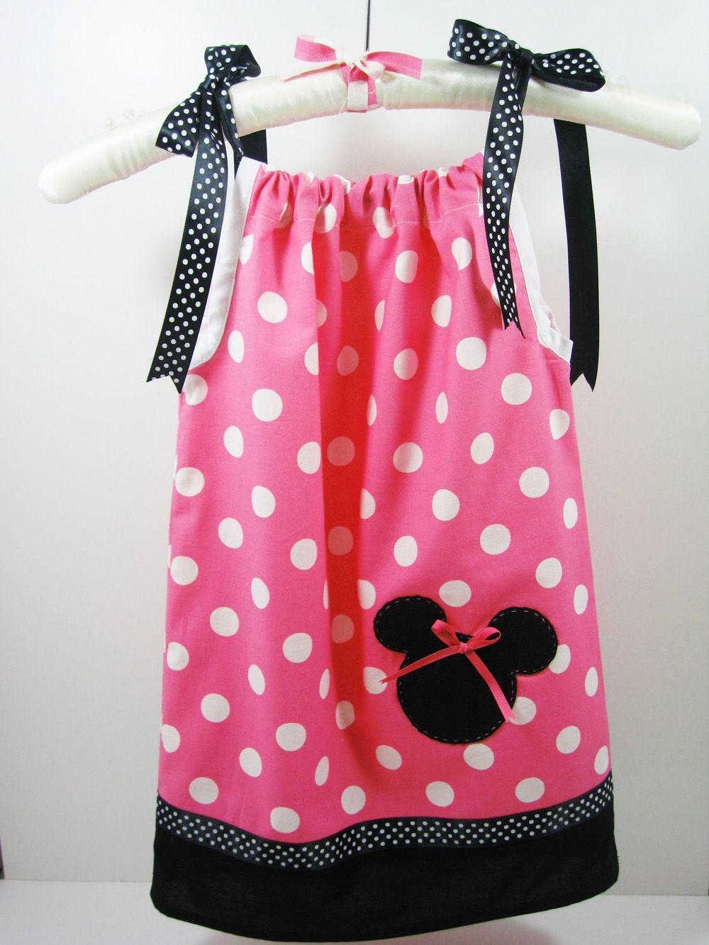 Pattern For Girls Pillowcase Dress   Bellarageous: Minnie Mouse Pillowcase Dress & Pattern For Girls Pillowcase Dress   Bellarageous: Minnie Mouse ... pillowsntoast.com